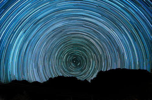Polaris Star Trail in Big Bend National Park | by Costa1973