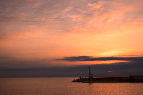 ocean morning sea sky nature japan sunrise 雲 自然 海 空 daybreak ibaraki 朝 朝焼け