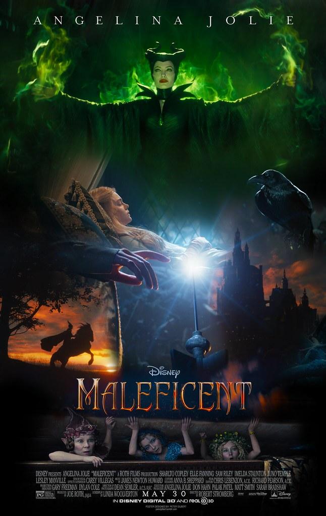 Disney Maleficent Movie Poster Disney Maleficent Movie Pos