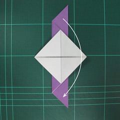 วิธีพับกระดาษเป็นนกพิราบแบบง่าย (Easy Origami Pigeon) 008