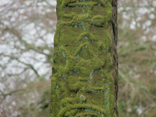 Inverted Horseman - Gosforth Cross