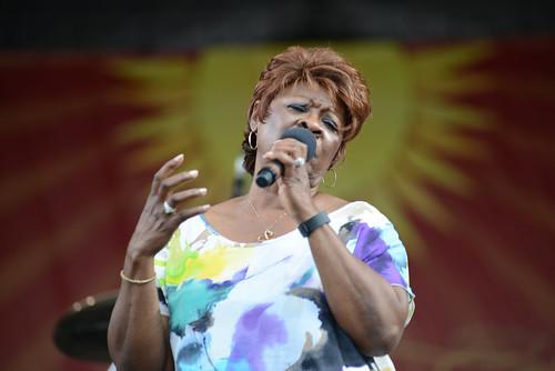 Irma Thomas at Jazz Fest 2016.  Photo by Leon Morris.