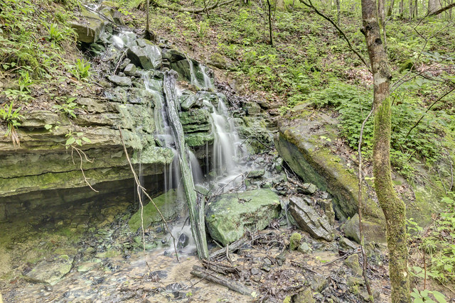 Green Falls, Scott Branch, Overton County, Tennessee