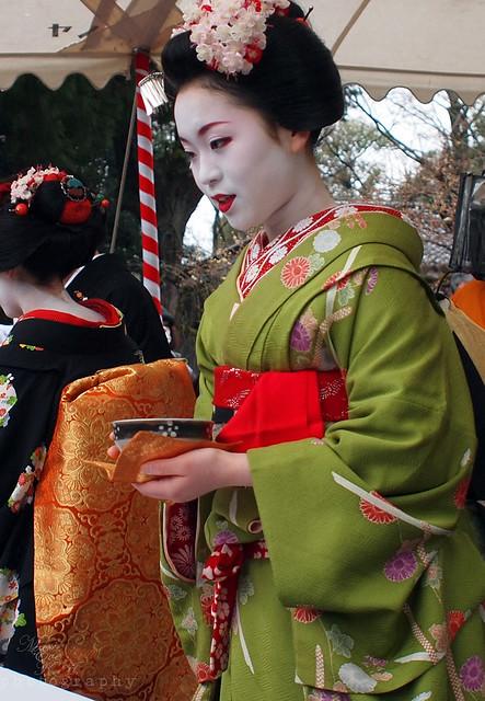 Maiko 'Ichimari' / Tea Ceremony