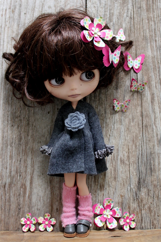 Peri with Flower & Butterfly Accessories | By Karen Leonard