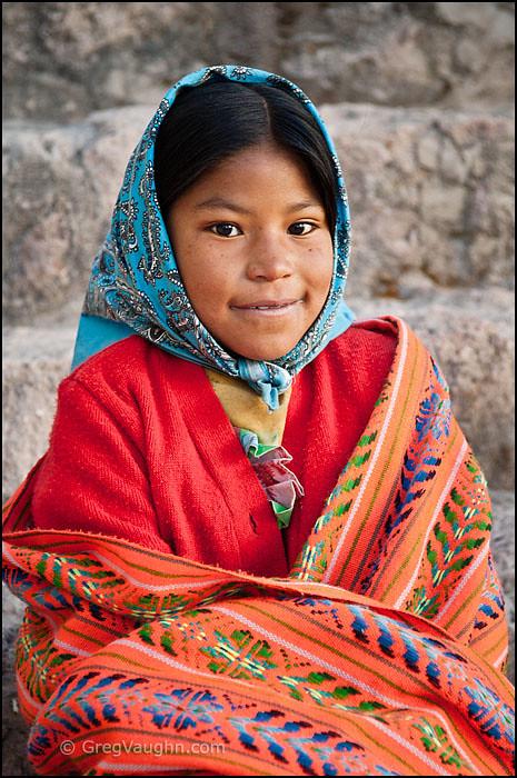 Tarahumara Girl Copper Canyon Alicia A Young