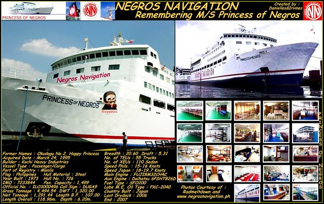M/S Princess of Negros Folio