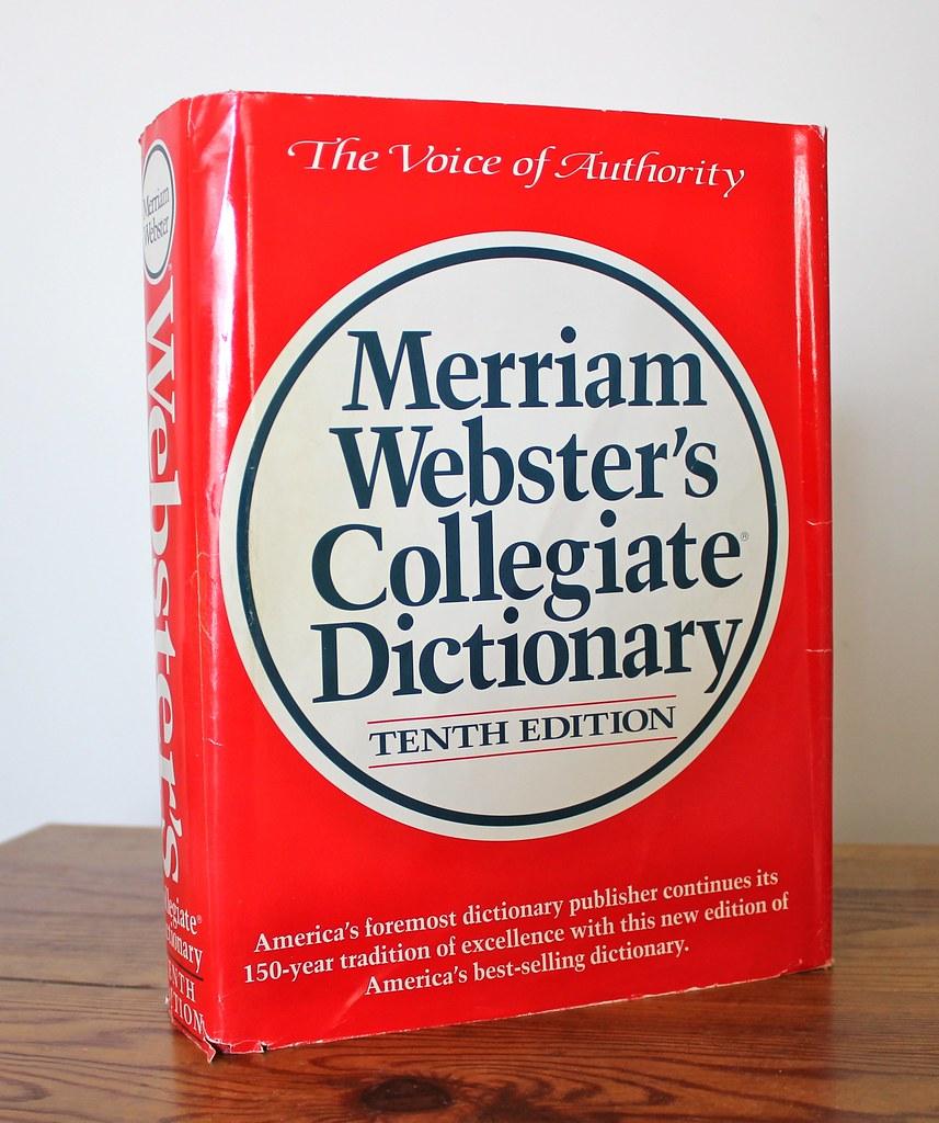Merriam Webster S Collegiate Dictionary 1993 The Tenth E