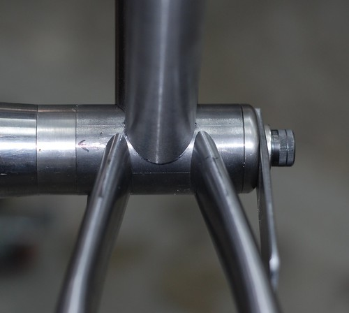 Chain Stays at Bottom Bracket | by Muse Cycles