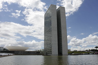 Behind the National Congress of Brazil in Brasilia | by akasped