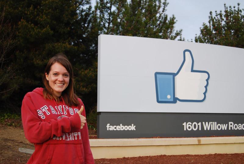 Renee Likes Facebook