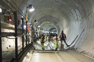 University Link tunnel construction | by SoundTransit