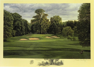 The 10th Hole, West Course, Winged Foot Golf Club, Mamaroneck, NY by Linda Hartough at Smith Galleries | by Smith Galleries
