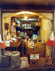 Syria 2001: Soap seller in the souq of Aleppo / ﺣﻠﺐ