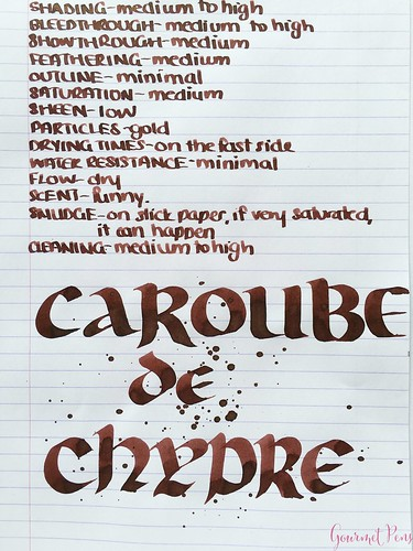 Ink Shot Review J. Herbin 1670 Caroube de Chypre @BureauDirect3717_WM | by GourmetPens