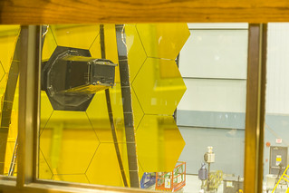 James Webb Space Telescope Rotates to Vertical