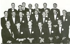 Gawler Lions Club Charter Members. 12 September 1967. Norm Knispel Front row - 1st. LHS
