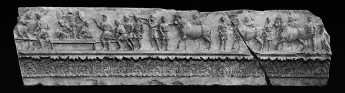 Frieze from the Temple of Apollo in Circo: Rome | by Roger B. Ulrich