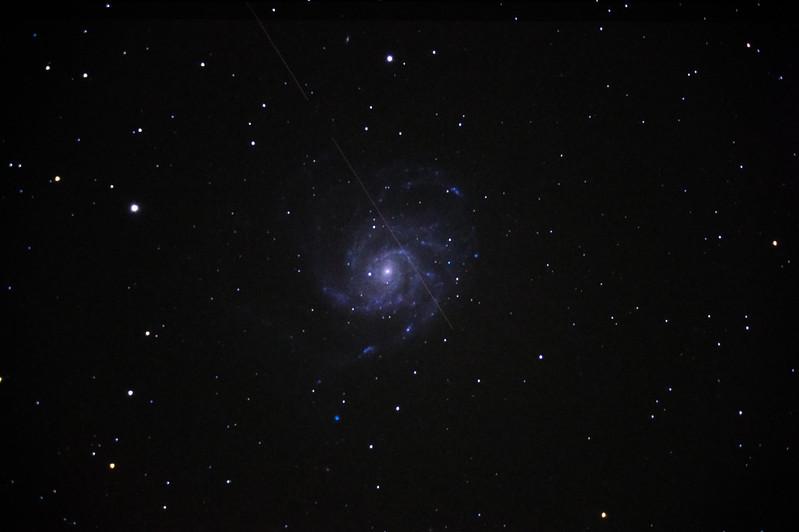 M101 9.5min 6frames ISO1600,3200 from Feb21,Feb24-1-5