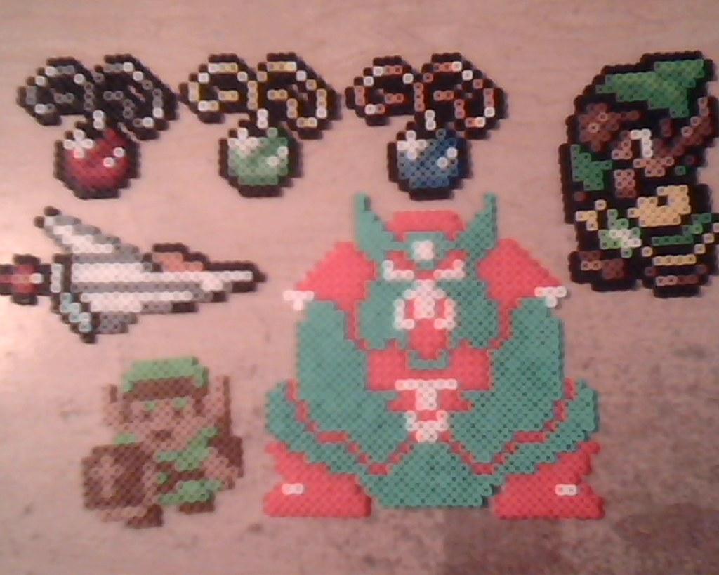 Assorted NES and SNES Sprites | Legend of Zelda: Link and Ga