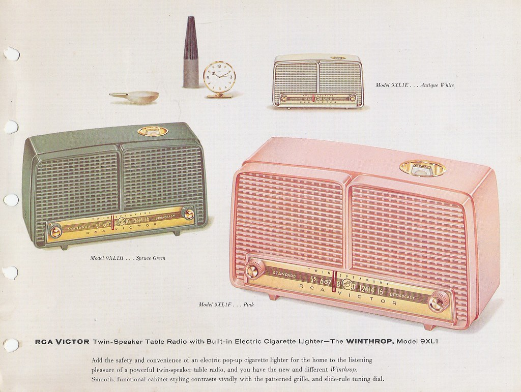 Rca Victor Radio Victrola Stereo And Phonograph Dealer S Flickr