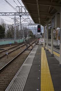 Hibarigaoka-Hanayashiki Stn. / 雲雀丘花屋敷駅 | by rok1966