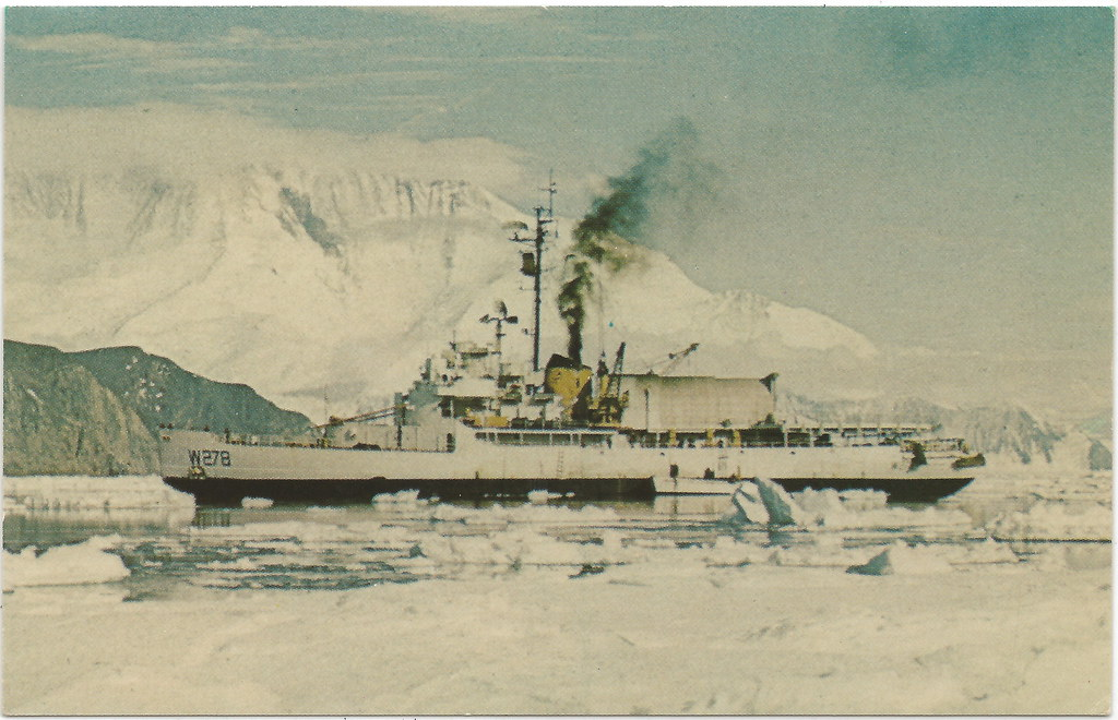 United States Coast Guard Ship Photo Print --USCG USCGC Staten Island WAGB 278