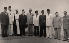 استقبال وزير لبنان المفوض في باكستان رفيق القصار  -  كراتشي - 5 كانون الثاني 1951
