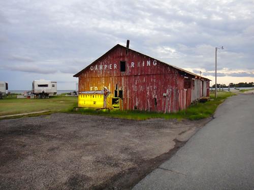 Old Barn along the Potomac near Courtney's Restaurant, Ridge