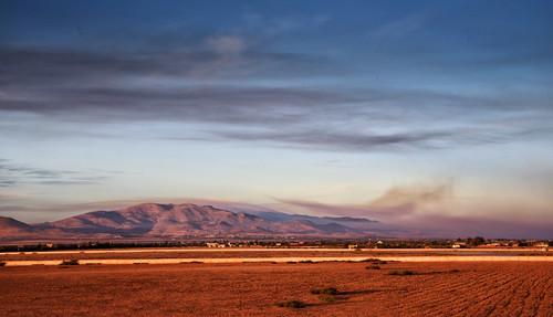 autumn light sky mountains clouds rural landscape sand nikon morocco d750 fields oriental tamron sunsetlight 2470mm