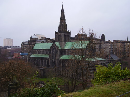 Glasgow Cathedral, March 2009