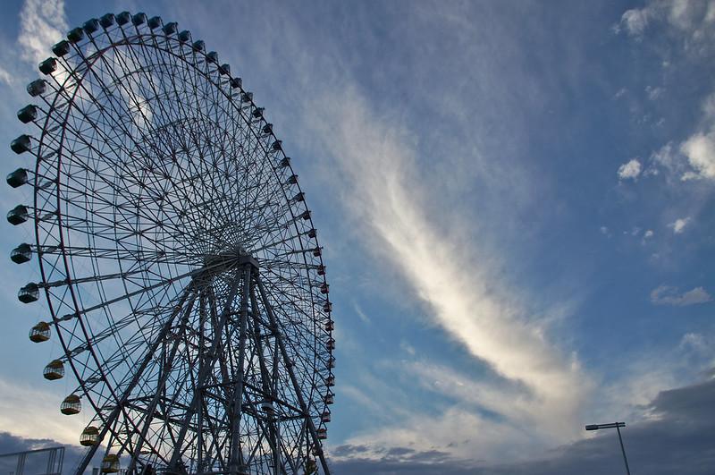 La grande roue de Tempozan