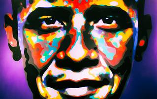 Obama   by Johnny Silvercloud