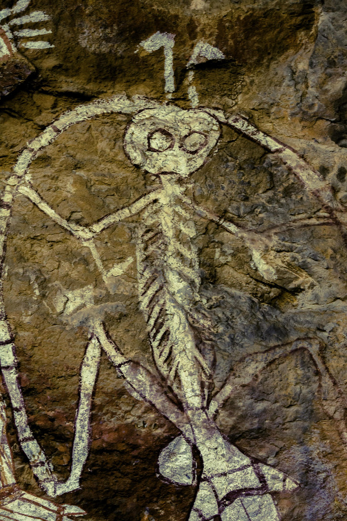 Img 1751 Australia Australian Aboriginal Rock Art Kakadu Flickr