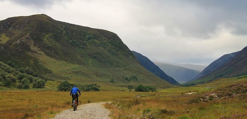 Heading up Gleann Mor | by Pikes On Bikes