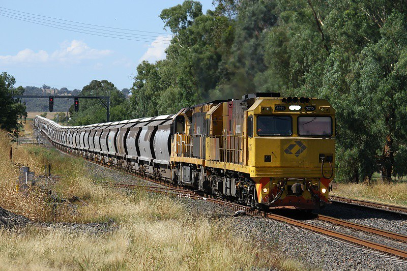 Grain by Aurizon by David Arnold