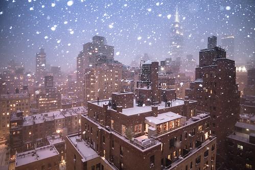 Midtown East Snow-2   by RBudhu