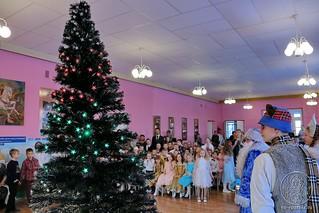 Рождественский концерт в школе 169