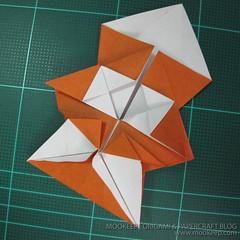 วิธีพับกระดาษเป็นรูปหมี (Origami Bear) 019