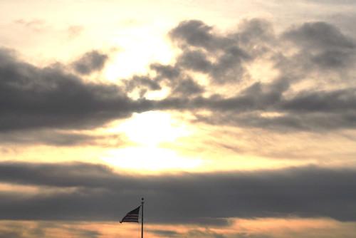 sunset sky clouds sunrise skies americanflag project365 annaortizgurule artedgy annagurule