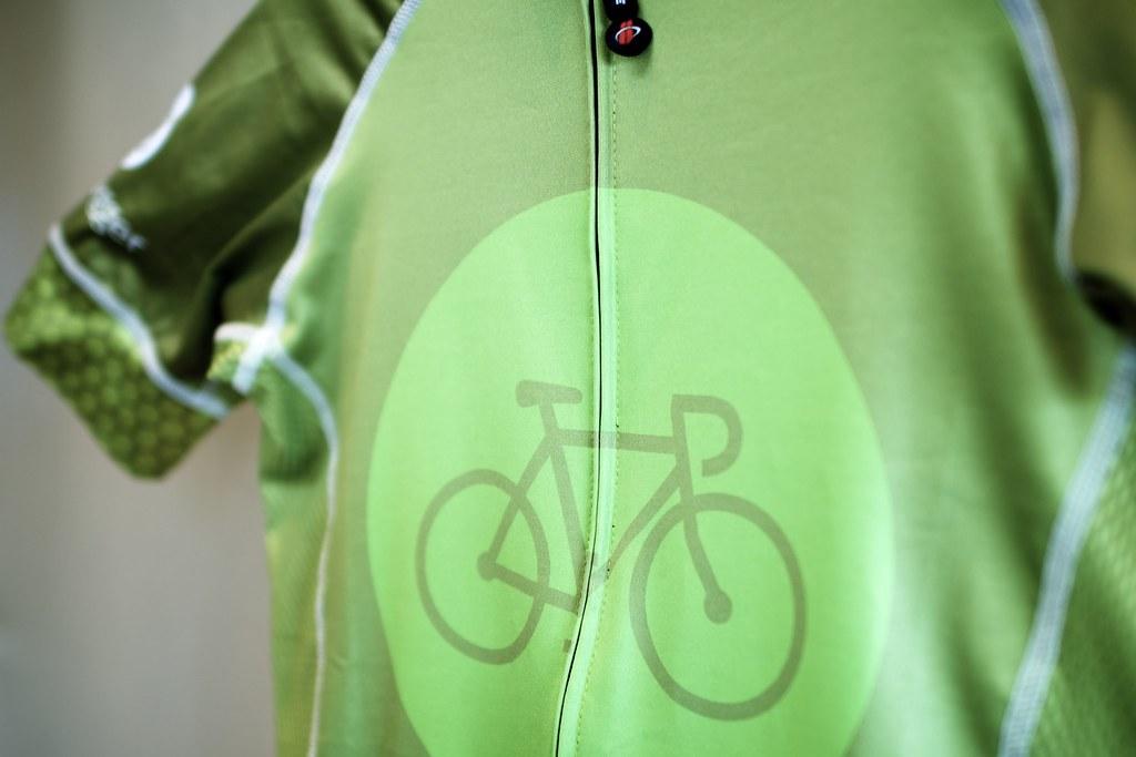 Bike Hugger Spring 12 Jersey: Logo Front, Right Sleeve ...