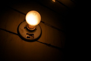 Railway lightbulb | by juliandunn