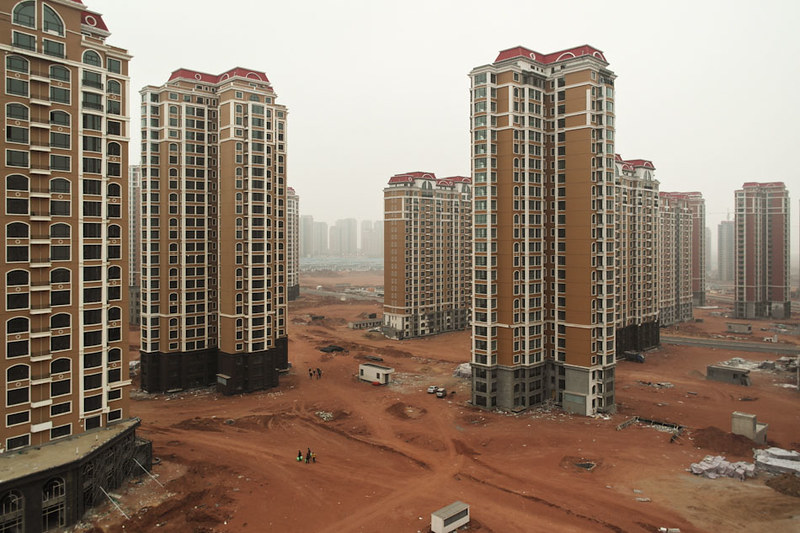 Giant Housing Complex in Kangbashi