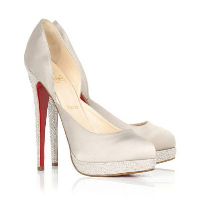 Christian Louboutin Wedding Shoes Stain Almond Toe Flickr
