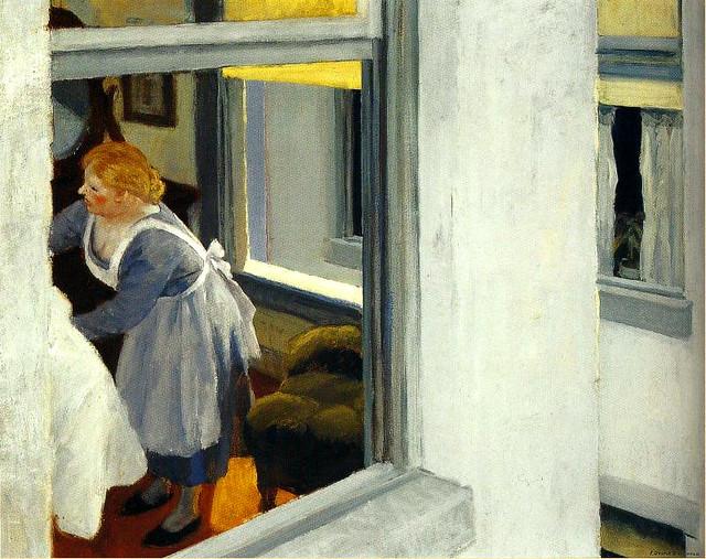 Hopper, Edward  (American, 1882-1967) - Appartment Houses  - 1923