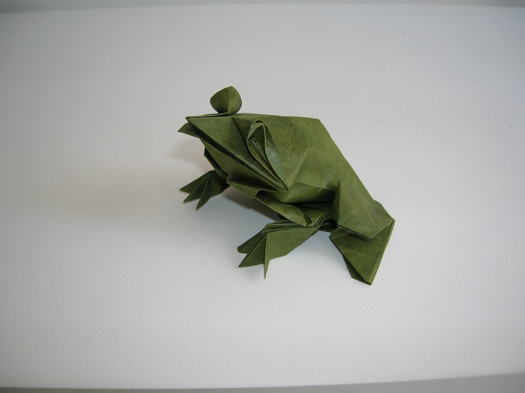 Toadly Awesome, Un-Frog-Gettable and Quite Ribbitting Origami Frogs | 768x1024