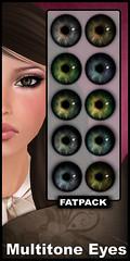 Multi Tone Eyes - Back To Black