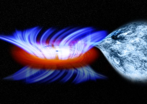 Stellar-Mass Black Hole (NASA, Chandra, 02/21/12)