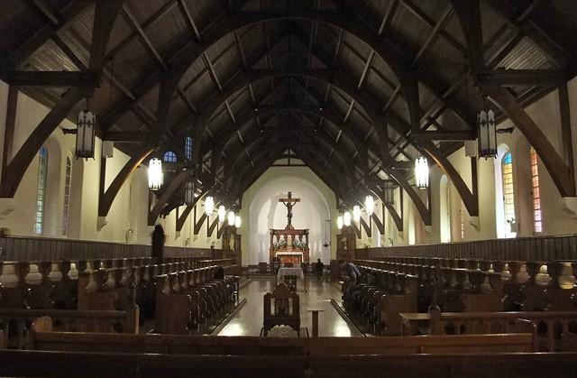 Mission Center and Shrine of St. Katherine Drexel, St. Elizabeth Chapel, Sisters of the Blessed Sacrament, Bensalem, PA
