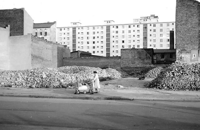 Berlin-Gesundbrunnen, Gartenstraße, 1955